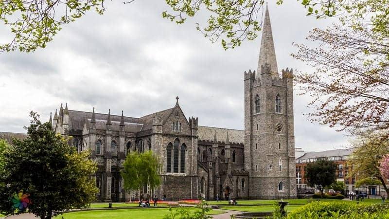 St Patrick's Cathedral Dublin'de görülecek yerler