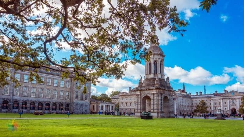 Trinity College Dublin gezilecek yerler