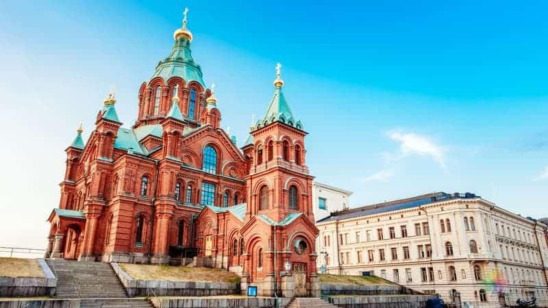 Uspenski Cathedral Helsinki gezisi