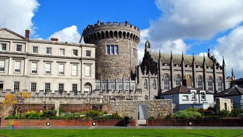 dublin castle Dublin gezilecek yerler