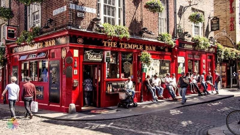 Temple Bar Dublin gezilecek yerler