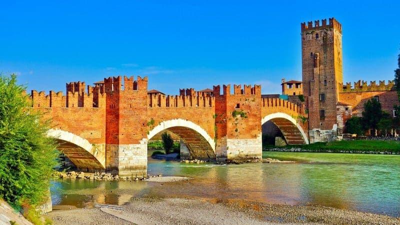 Castelvecchio Verona gezilecek yerler