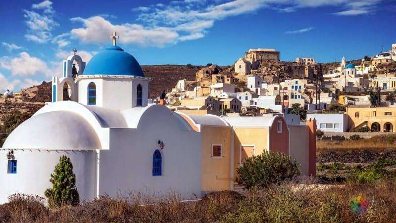 Akrotiri Santorini gezilecek yerler
