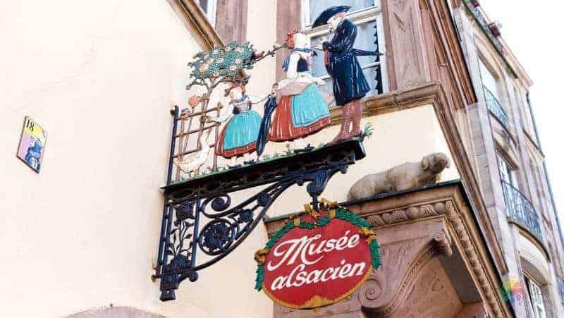 Alsatian museum strazburg gezisi
