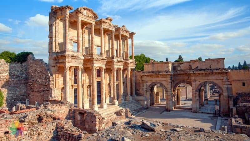 Unesco Dünya Mirası Listesi Türkiye Efes Antik Kenti