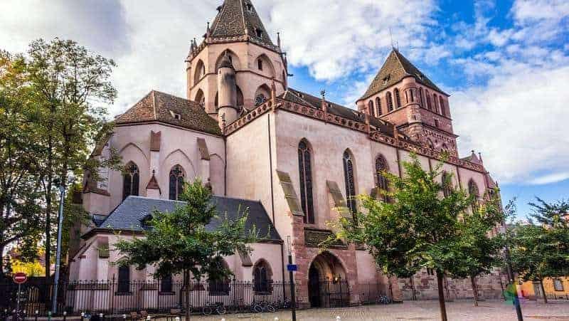 Eglise Saint Thomas strazburg gezi rehberi