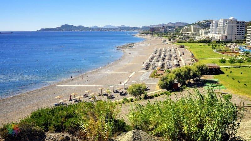 Faliraki Beach Rodos gezilecek yerler