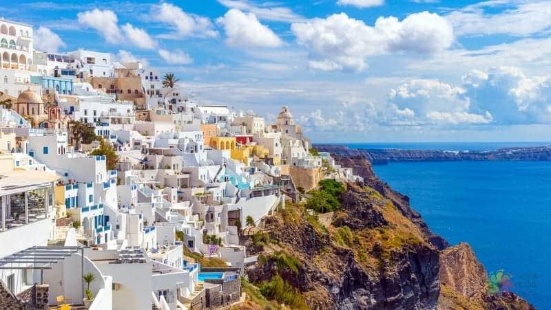 Santorini gezi rehberi Fira Thera