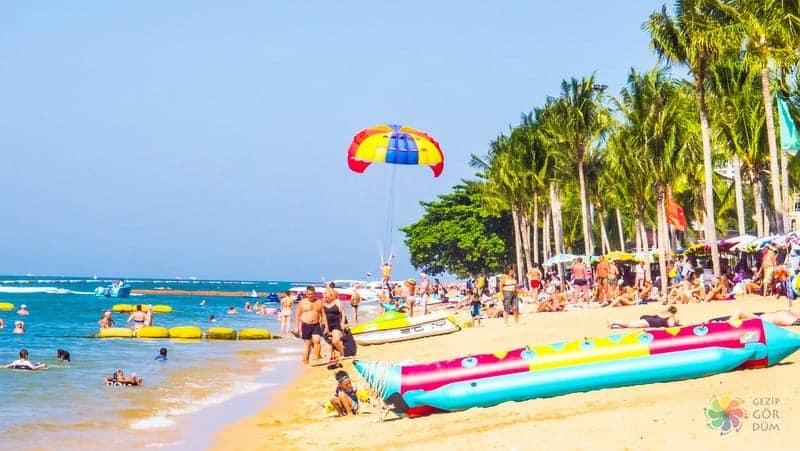 Jomtien Plajı Pattaya gezilecek yerler
