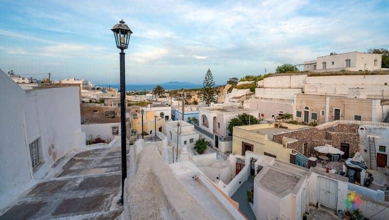 Karterados Santorini gezilecek yerler