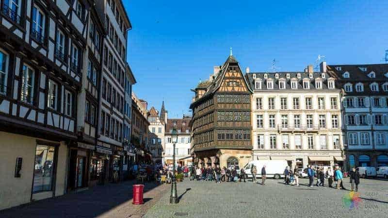 Maison Kammerzell strazburg gezilecek yerler
