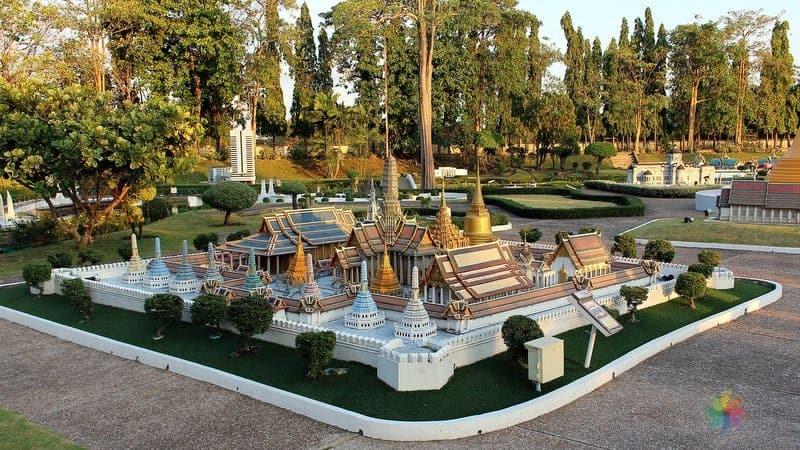 Mini Siam Pattaya'da görülecek yerler