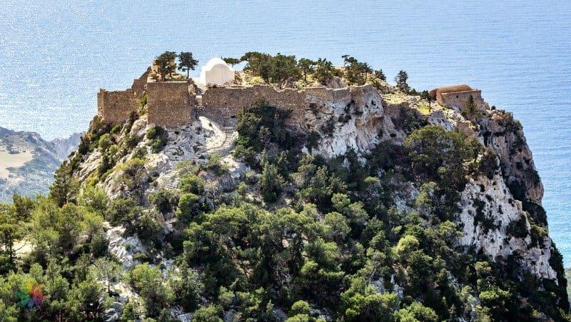 Monolithos Kalesi Rodos gezilecek yerler