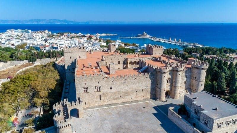 Rodos'ta gezilecek yerler Palace of the Grand Masters