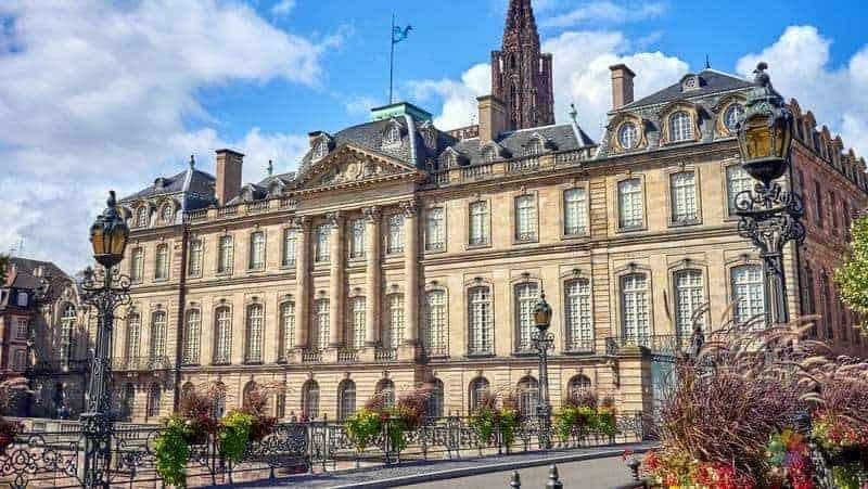 Palais Rohan strazburg gezilecek yerler