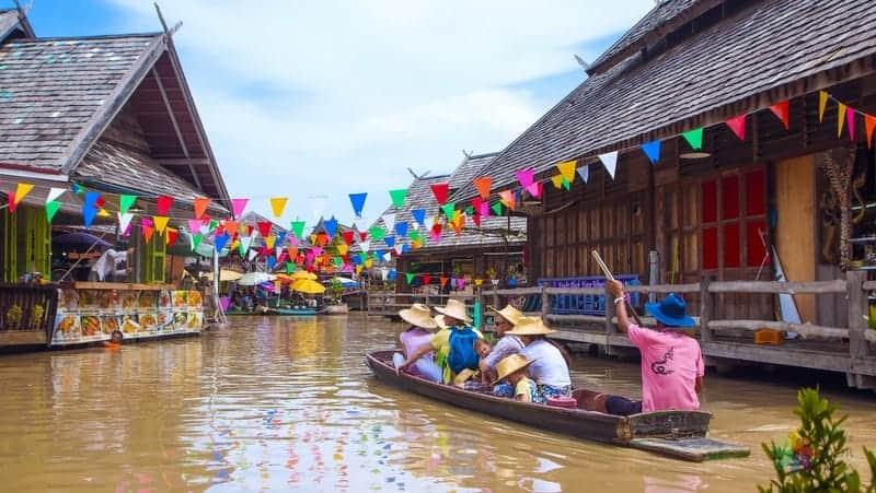 Floating Market Pattaya gezilecek yerler