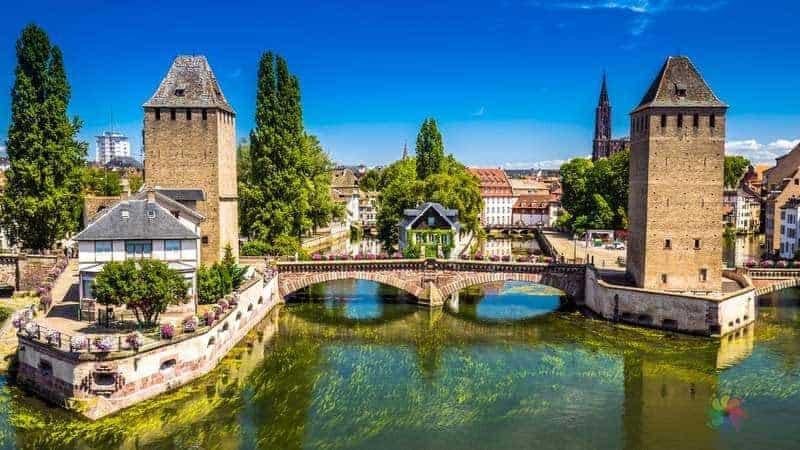 Ponts Couverts strazburg'da gezilecek yerler