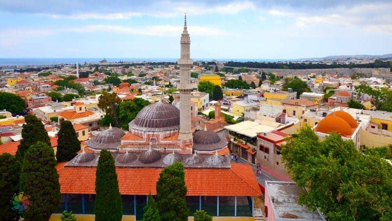 Süleymaniye Camii Rodos tatili