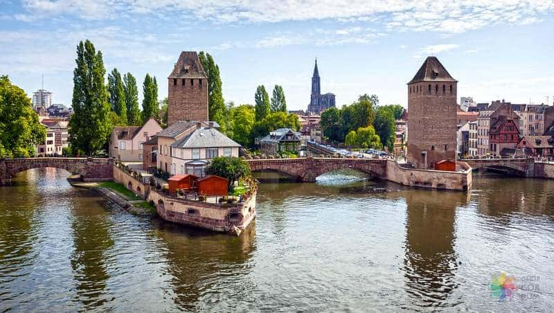 Strasbourg le Barrage Vauban strazburg seyahati