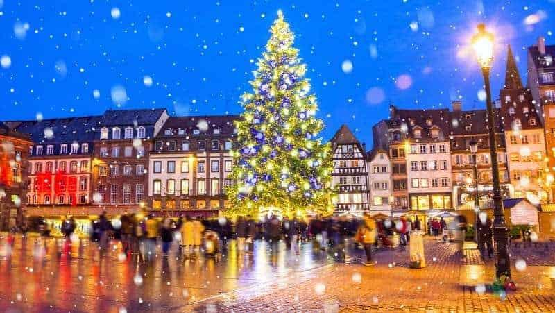 Christmas Market strazburg gezilecek yerler
