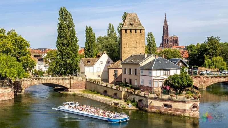 strazburg gezilecek yerler blog, strazburg'da gezip görülmesi gereken yerler