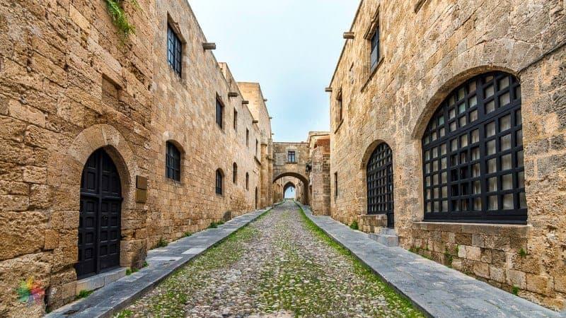 Street of Knights Rhodes Rodos gezi rehberi