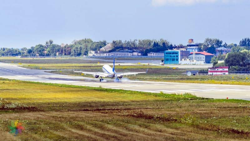 Lviv nerede, uçak ulaşım
