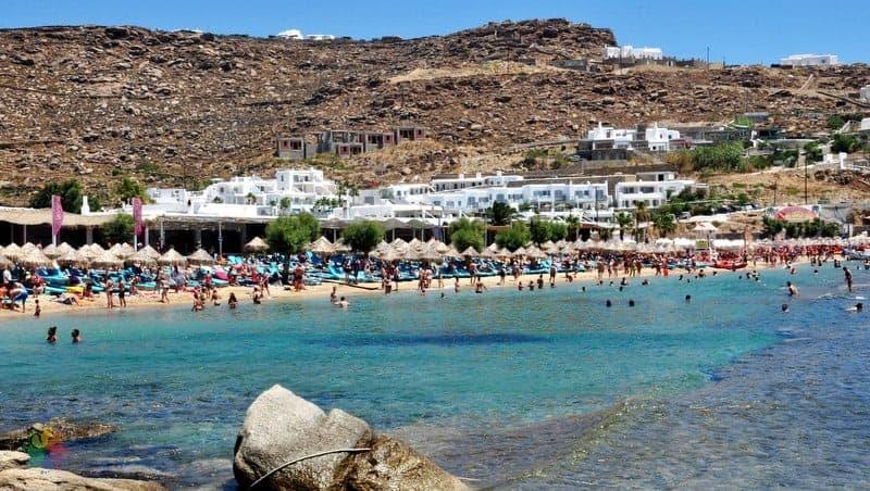 Paradise Beach Mykonos konaklama