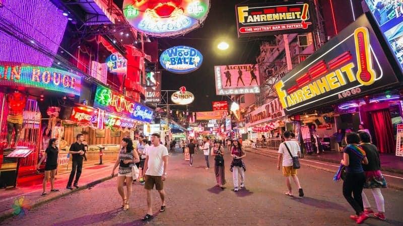 Walking Street otelleri Pattaya'da konaklama