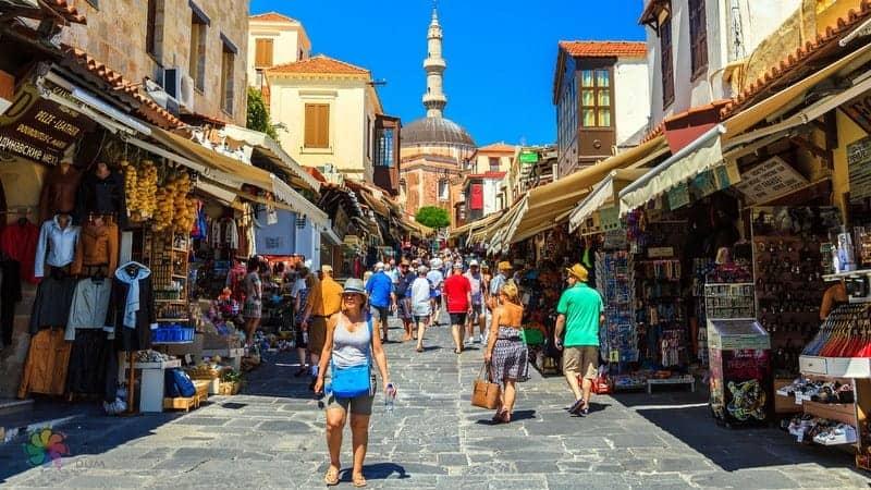 Old Town Rodos gezilecek yerler