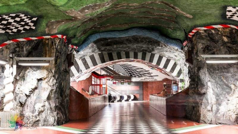 Stockholm ulaşım metro