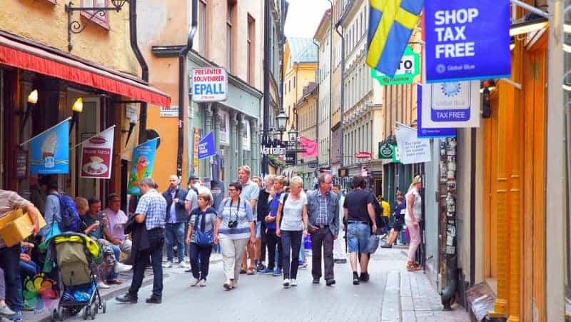 Stockholm şehir içi ulaşım yürüme