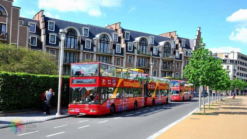 Brüksel'de ulaşım hop on hop off
