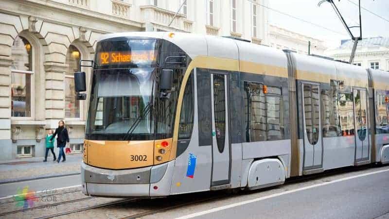 Brüksel şehir içi ulaşım tramvay