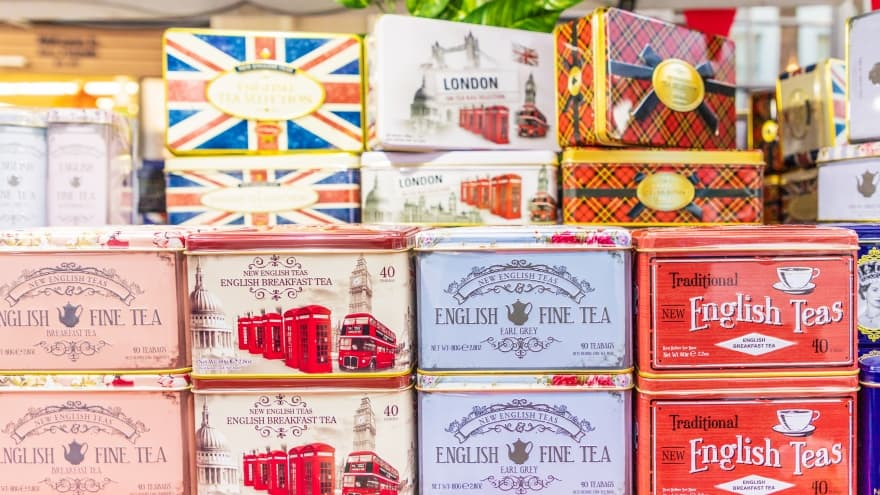 Londra yemek rehberi çay
