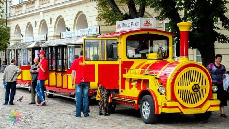Lviv şehir içi ulaşım Wonder train