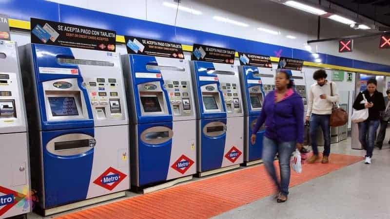Madrid'de ulaşım bilet fiyatları