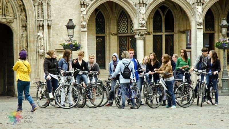 Brüksel'de ulaşım bisiklet