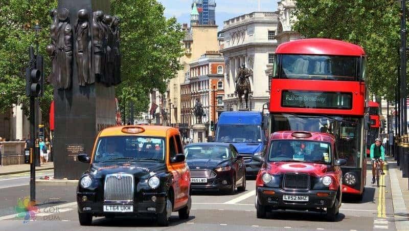 Londra şehir içi ulaşım rehberi