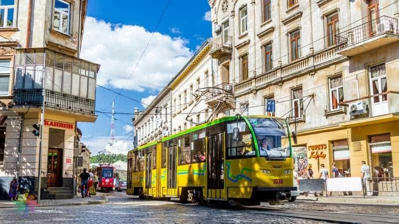 Lviv ulaşım rehberi tramvay