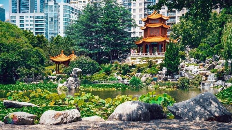 Chinese Garden of Friendship Sidney gezilecek yerler