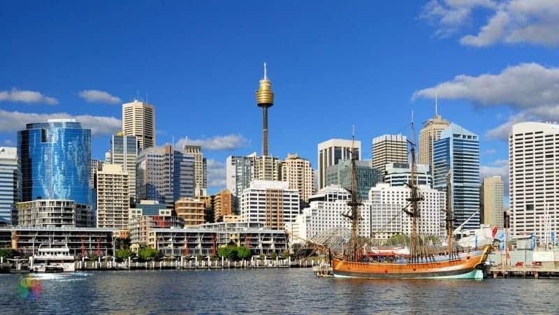Sidney'de nerede kalınır Darling Harbour otelleri