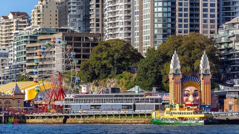 Luna Park Sidney gezilecek yerler