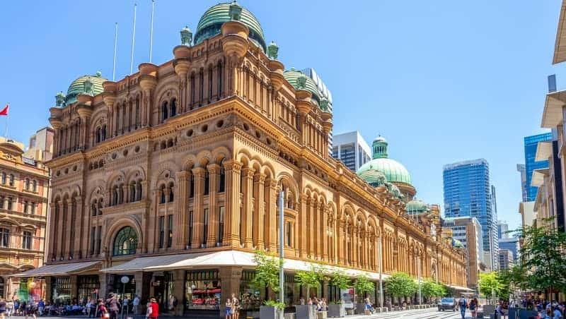 Queen Victoria Building Sidney gezilecek yerler