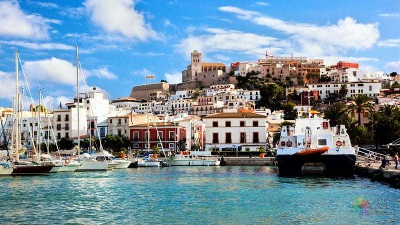 Dalt Vila Ibiza Town ibiza gezilecek yerler