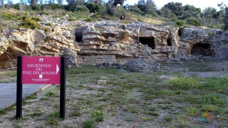 Necropolis del Puig des Molins ibiza gezilecek yerler