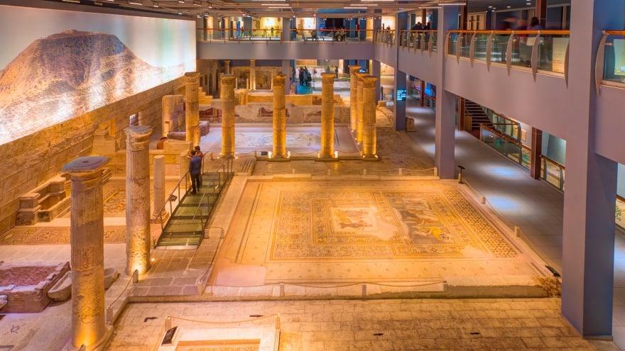 Zeugma Mozaik Müzesi Gaziantep gezi rehberi