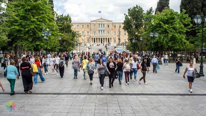 Atina'da nerede kalınır Syntagma otelleri