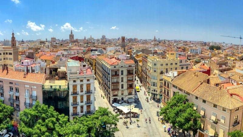 Ciutat Vella Valencia'da nerede kalmalı