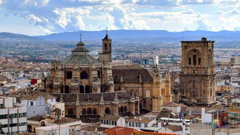 Granada Katedrali Endülüs gezisi